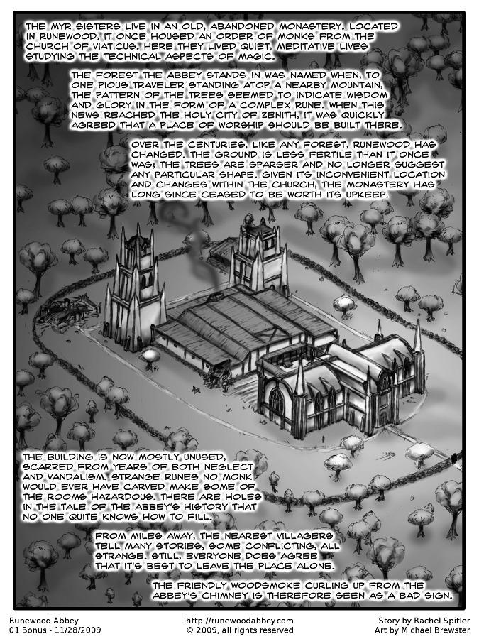 Chapter One – Bonus Page