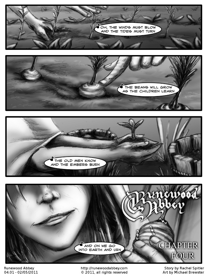 Chapter Four – Page One
